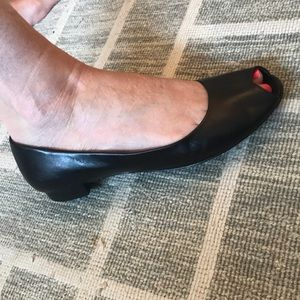 Vintage 1990's Antonio melani open toe shoes